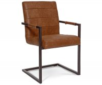 """""""Clio"""" Metal Upholstered Chair"""
