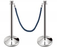 Oliver Post and Rope Barrier Anti Covid-19